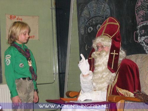 Tije bij Sinterklaas