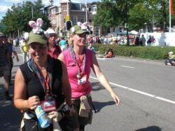 Onze gidsenleidsters op de Nijmeegse Vierdaagse!!!