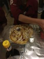 Pannenkoeken eet wedstrijd