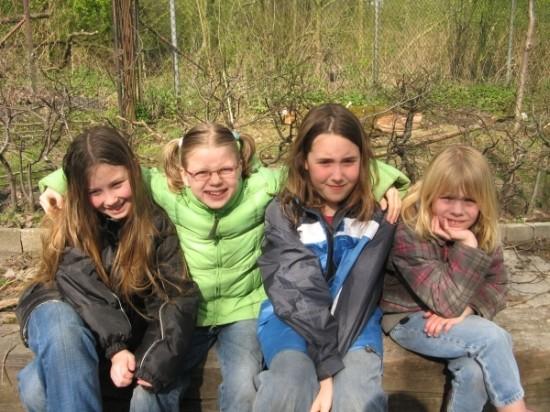 Een groepsfoto van de kabouters